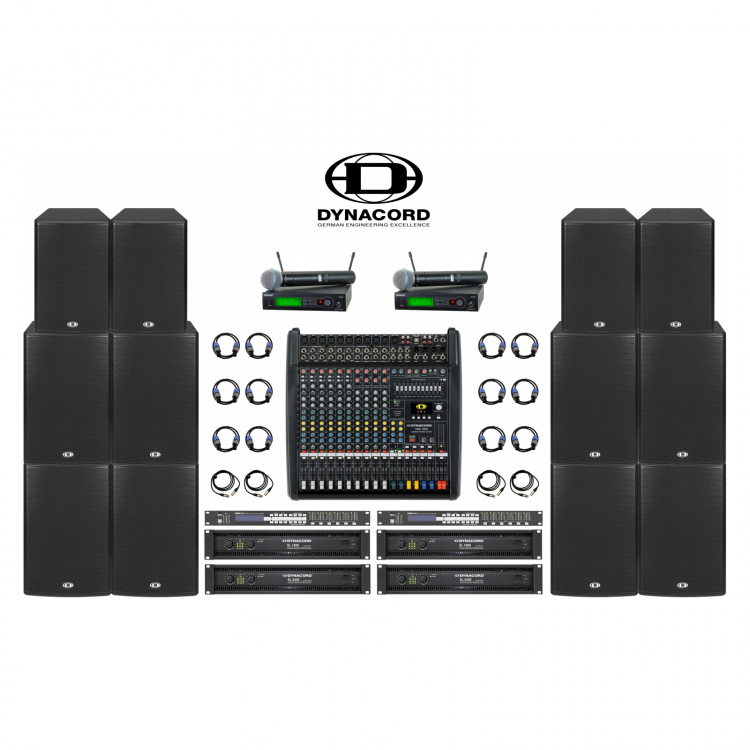 Комплект звука Dynacord 6 кВт