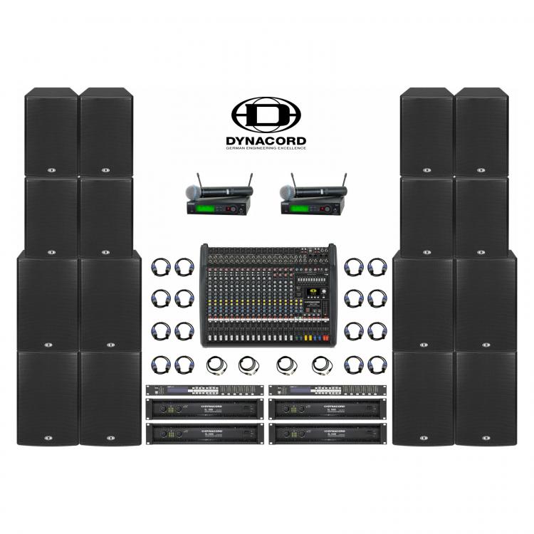 Комплект звука Dynacord 8 кВт
