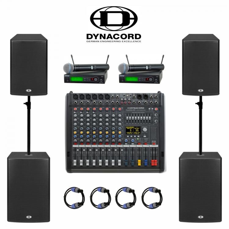 Комплект звука Dynacord 2 кВт