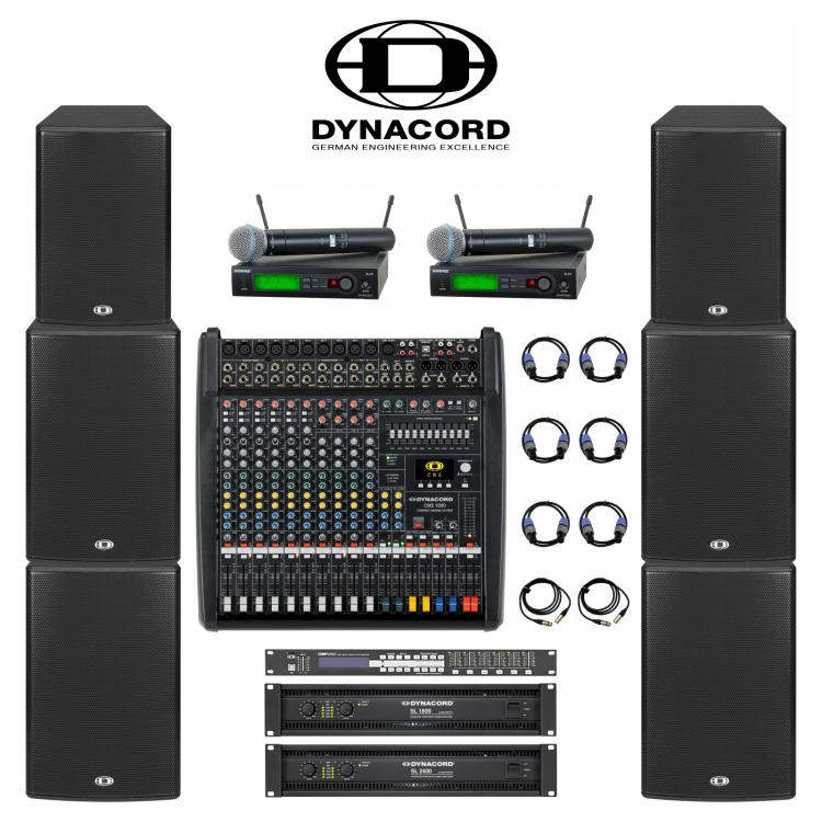 Комплект звука Dynacord 3 кВт