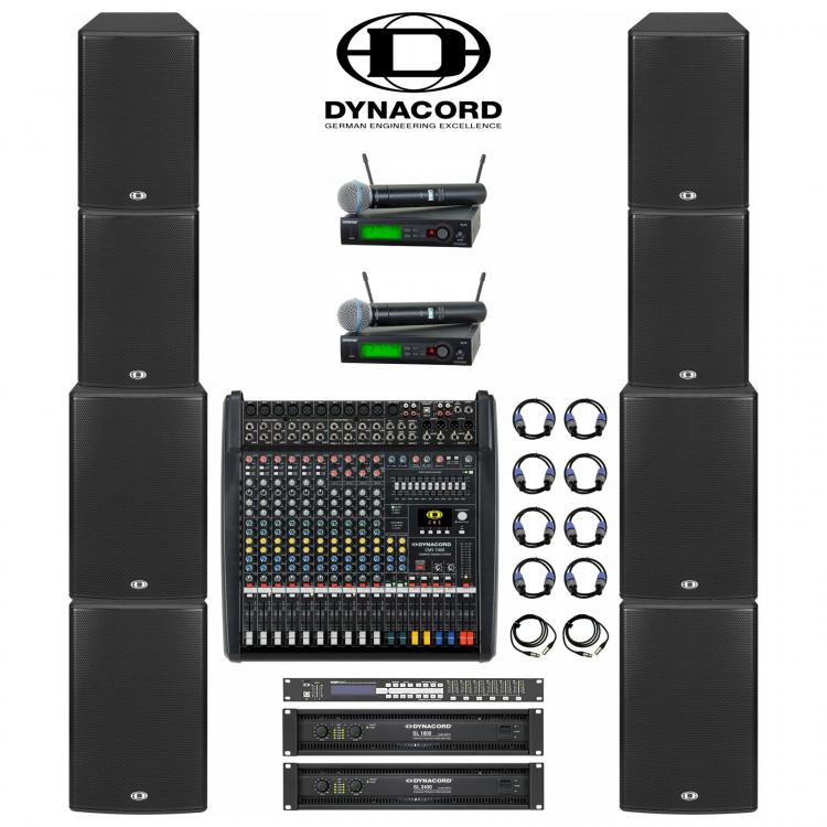 Комплект звука Dynacord 4 кВт