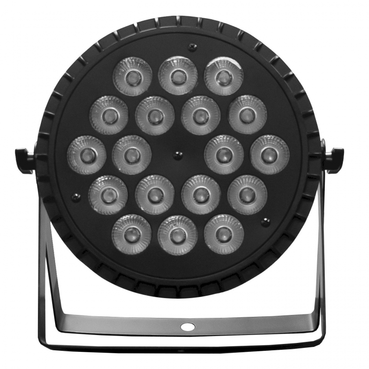 LED PAR RGBW SLIM BLACK