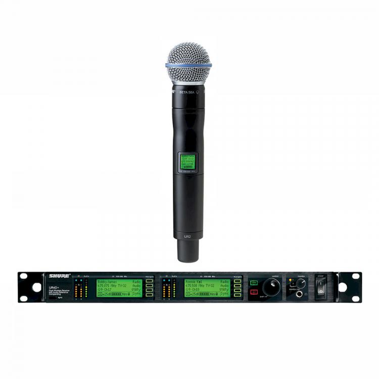 SHURE UHF-R J5E 578-638 MHz / UR2 BETA58
