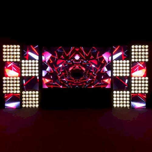 Комбинированная инсталляция экранов