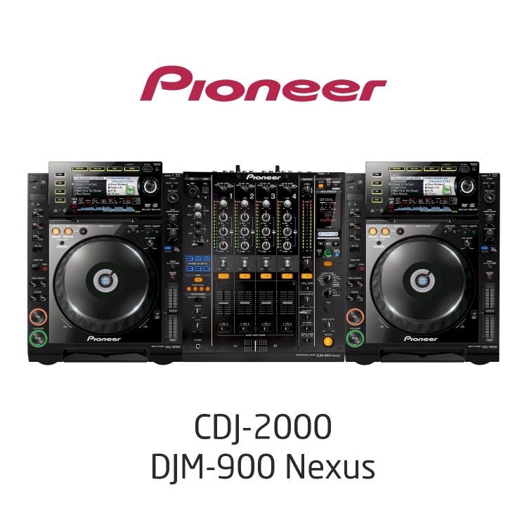 Комплект Dj /CDJ2000, DJM900NXS/