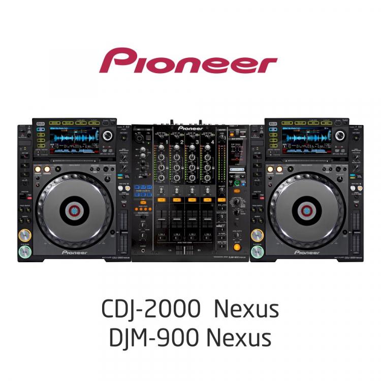 Комплект Dj /CDJ2000NXS, DJM900NXS/