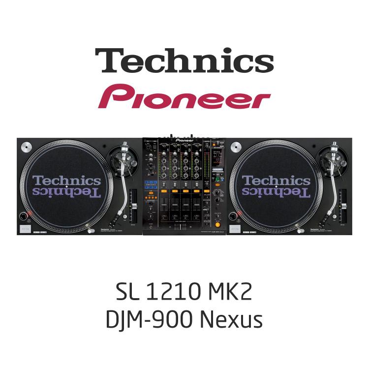 Комплект Dj /SL1210MK2, DJM900NXS/