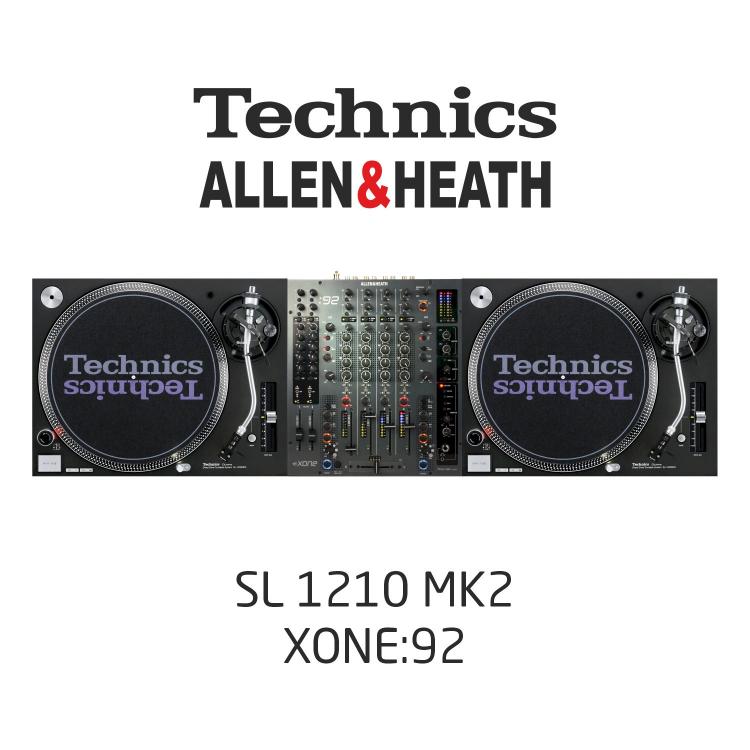 Комплект Dj /SL1210MK2, XONE92/